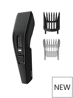 Philips Philips Series 3000 Hair Clipper with Stainless Steel Blades (Corded) - HC3510/13