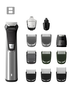 Philips Philips Series 7000 12-in-1 Ultimate Multi Grooming Kit for Beard, Hair and Body with Nose Trimmer Attachment - MG7735/33 Best Price, Cheapest Prices