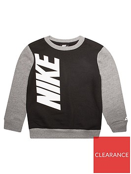 nike-childrens-core-hbr-crew-neck-sweat-top-black