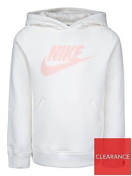 nike-childrens-nsw-fleece-overhead-hoodie-off-white