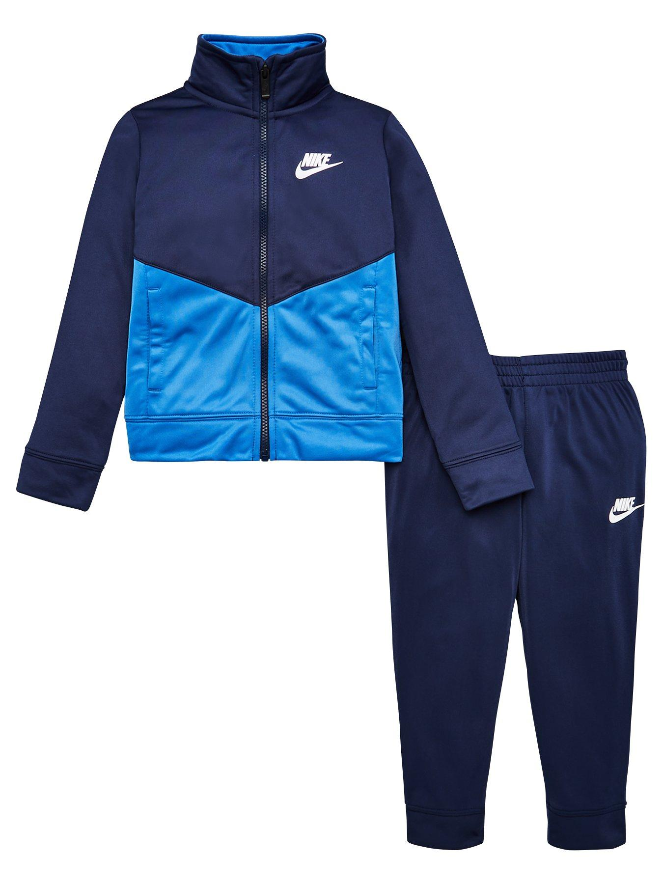 Nike Block Taping Tricot Set Laser Blue