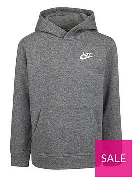 nike-younger-child-club-overhead-hoodie-dark-grey