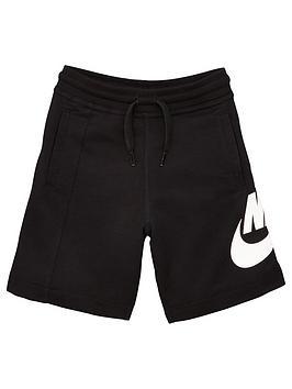 nike-alumni-youth-shorts-black