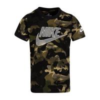 Childrens Futura AopCamo Short Sleeve T Shirt   Green by Nike