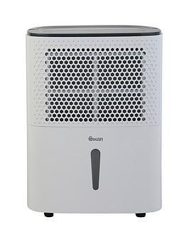 Swan 10-Litre Dehumidifier - White
