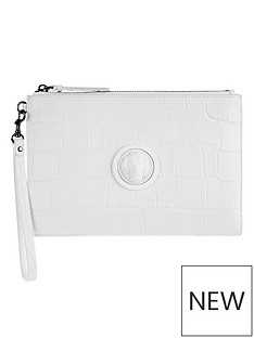 versus-versace-lions-head-clutch-bag-white