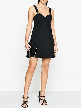 versus-versace-lionnbspbuckle-mini-dress-black
