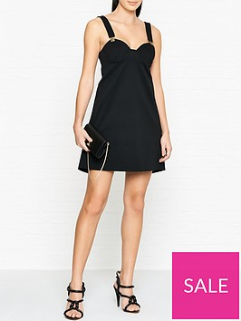 versus-versace-lionnbspbuckle-mini-dress-black