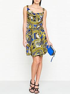 versus-versace-baroque-print-mini-dress-goldblue