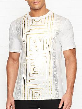 versace-collection-marble-laminate-frame-t-shirt-white