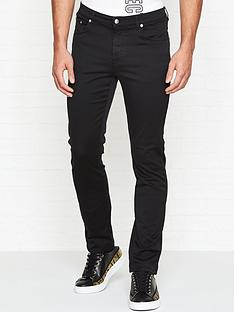 versace-collection-medusa-head-slim-fit-jeans-black