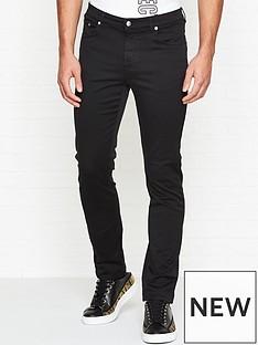versace-collection-medusa-head-slim-fit-jeans-black