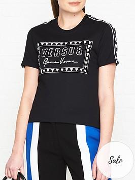 versus-versace-logo-print-t-shirtnbsp--black