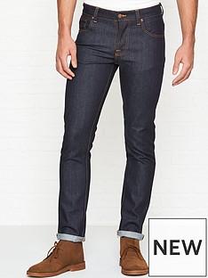 nudie-jeans-grim-tim-dry-slim-fit-indigo-wash-jeans-indigo