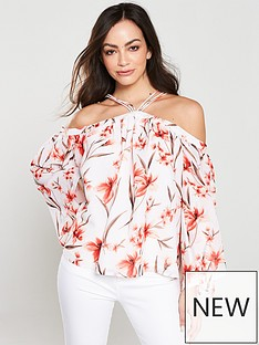 v-by-very-printed-strappy-top-floral