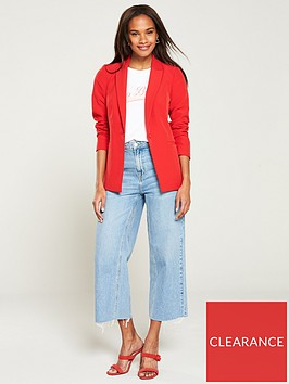 v-by-very-tailored-single-button-blazer-red