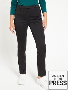 v-by-very-valuenbspponte-slim-leg-trouser-black