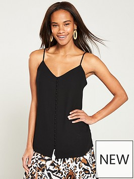 v-by-very-longline-button-front-caminbsp--black