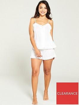 v-by-very-broderie-cotton-short-pyjama-set-ivory
