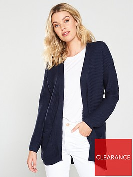 v-by-very-ottoman-rib-pocket-cardigan-navy