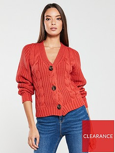 v-by-very-chunky-cable-knit-cardigan-rust-red