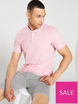 selected-homme-tyron-short-sleeve-polo-shirt-pink