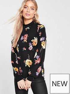 oasis-bloom-high-neck-jersey-blouse