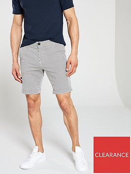 selected-homme-paris-straight-mix-shorts-whiteblue