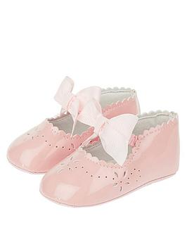 monsoon-posey-pink-patent-bootie