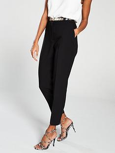 wallis-snake-belt-bottany-trouser-black