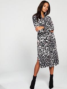 0e1c1a6d59 Wallis Pink Animal Midi Dress