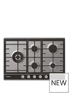 hoover-hhg7wldvx-75cm-gas-hob-with-optional-installation-stainless-steel