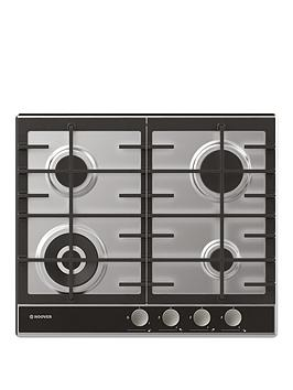hoover-hhg6bf4wvx-60cmnbspgas-hob-with-optional-installation-stainless-steel