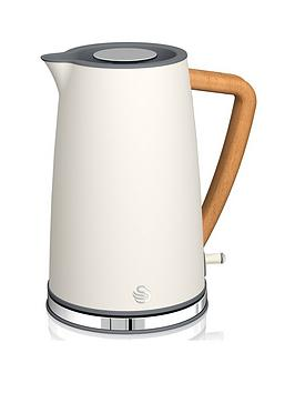 Swan 1.7L Nordic Style Kettle - White