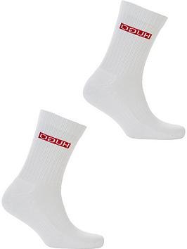hugo-2pk-reverse-logo-sock
