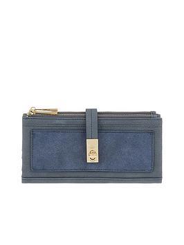 accessorize-soft-double-flap-wallet-navynbsp