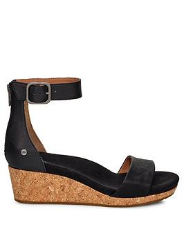 ugg-zoe-ii-wedges-black