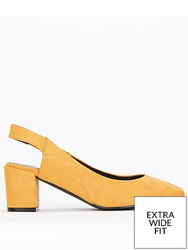 evans-evans-extra-wide-fit-slingback-block-heel-shoe