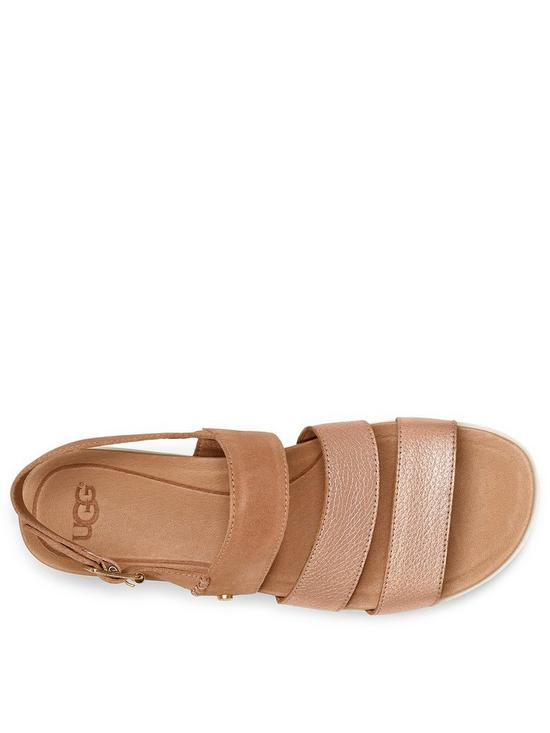 12c2c656b8d ... UGG Braelynn Metallic Flatform Sandals - Rose Gold. 3 people are  looking at this right now.