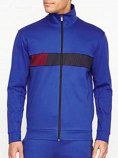 hugo-dalais-chest-logo-track-top-blue