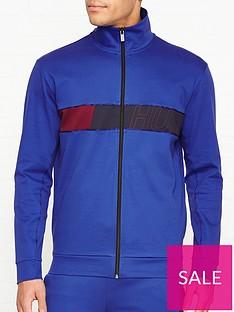 hugo-dalais-chest-logo-track-top-blue