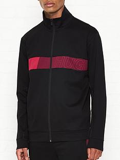 hugo-dalais-chest-logo-track-top-black