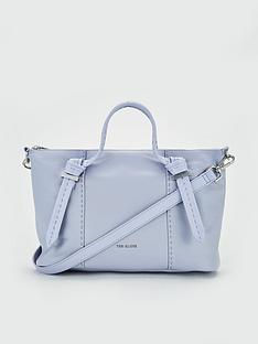 7bd8cb969dbc17 Ted Baker Olmia Knotted Handle Small Tote Bag - Pale Blue