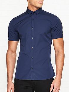 hugo-empson-w-short-sleeve-shirt-navy