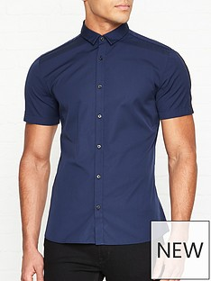 hugo-empson-w-short-sleeve-shirt-navy