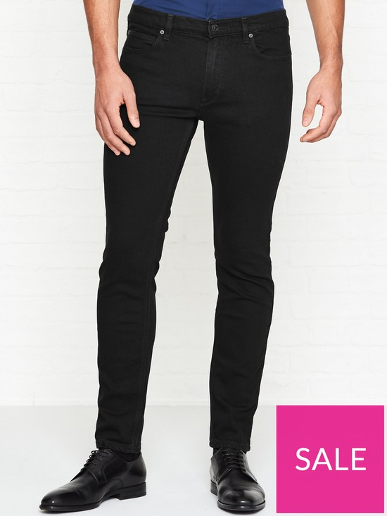 9d99c6c4 HUGO 734 Skinny Jeans - Black | very.co.uk