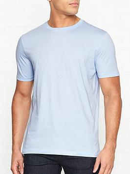 hugo-dero-crew-neck-t-shirt-blue