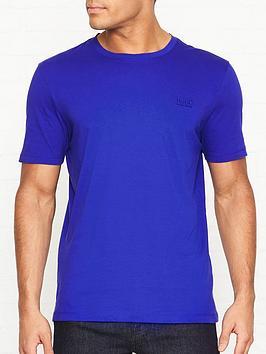 hugo-dero-crew-neck-t-shirt-blue