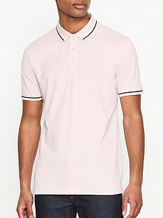 hugo-daruso-u1-tipped-short-sleeve-polo-shirt-pink