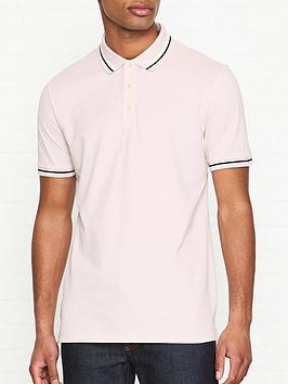hugo-daruso-u1-tipped-short-sleeve-polo-shirt-pink